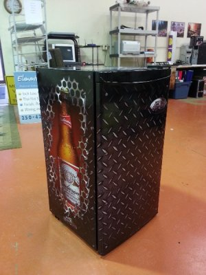 Beer Fridge Wraps Cranbrook Signs